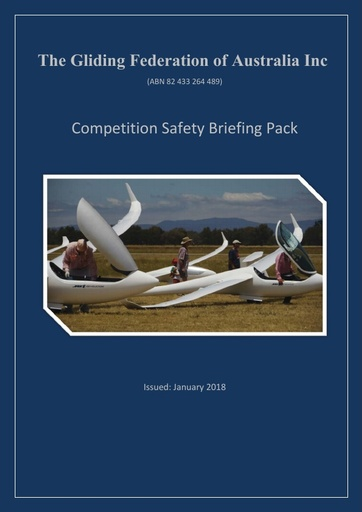 Competition Safety Briefing Pack