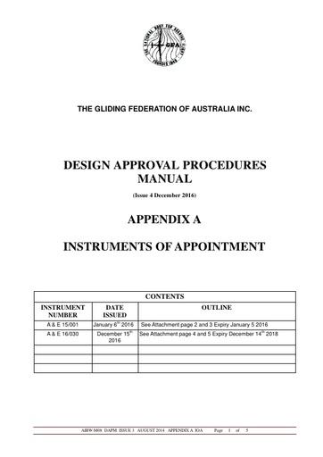 4GFA DAPM Appendix A IOA 2016-12-04