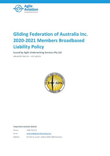 GFA BBL Policy 2020 21