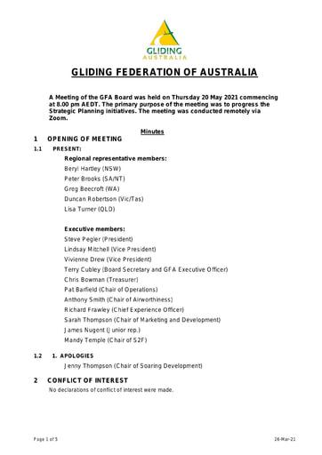 Minutes GFA Board 2021-05 interim