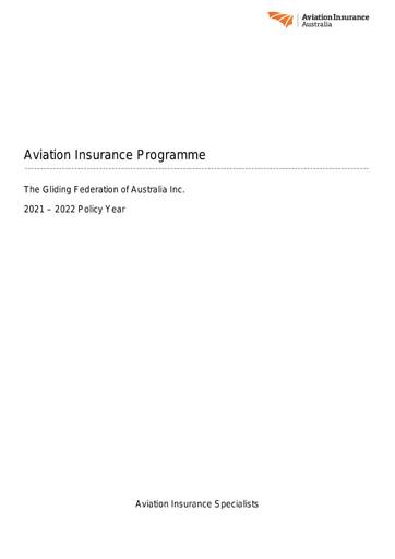 2021 Insurance Renewal Report for 30 04 2021