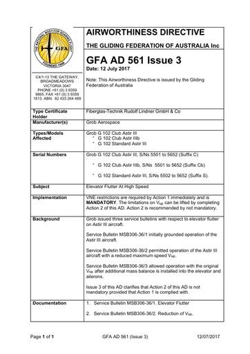 Gfa ad 561 issue 3