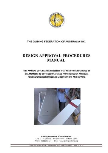 1GFA DAPM Issue 4 Introduction 2016-12-04
