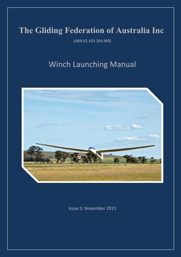 Winch Launching Manual (OPS 0007)