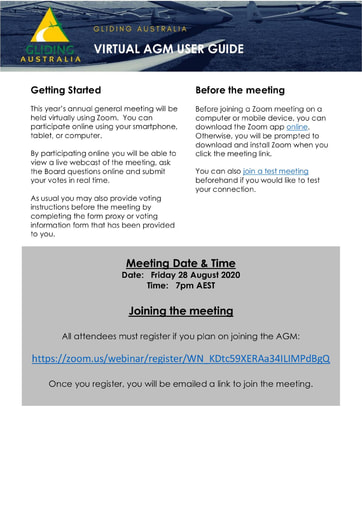 AGM Guide to electronic meeting 2020