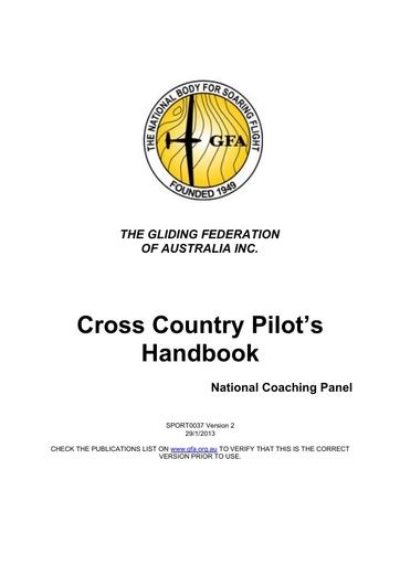 037 XC Pilot's Handbook v2