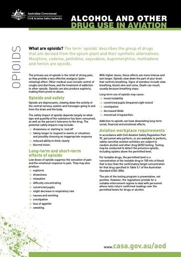 Factsheet opioids