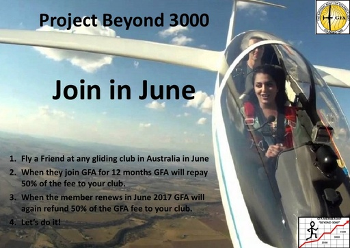 Join in June - Fly a Friend