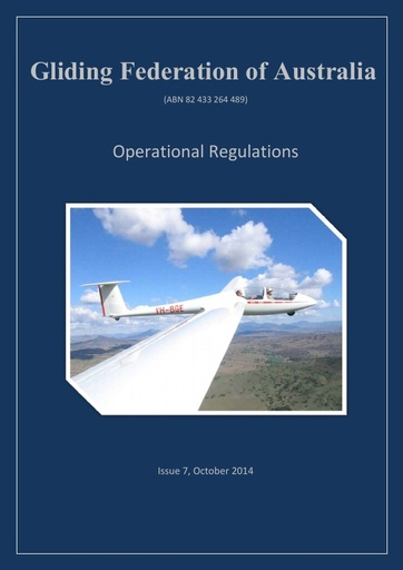 GFA Operational Regulations (OPS 0001) Issue 7