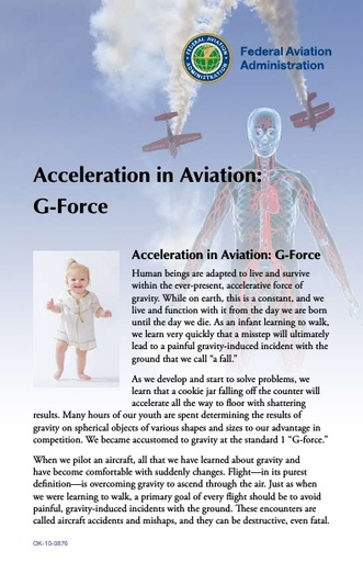 Acceleration in Aviation   G Force