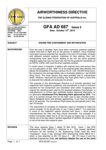GFA AD 687 Issue 2