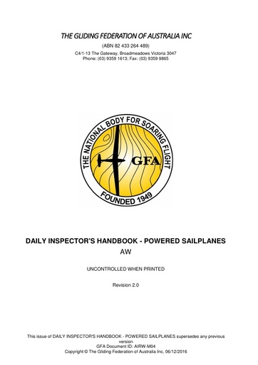 DI Handbook Powered Sailplanes AIRW-M04 Rev.2 2016.12.06