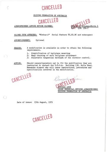 Gfa 035an CANCELLED