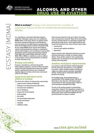 Factsheet ecstasy